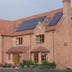 Solar PV installation in Lincolnshire